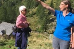 Erklären der Lungauer Bergwelt