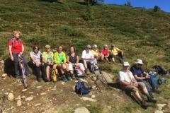 Rast zwischen Preber Halterhütte und Grazer Hütte