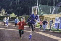Sprintübungen im Alpenstadion Tamsweg